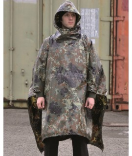 Regnslag/Poncho camouflage