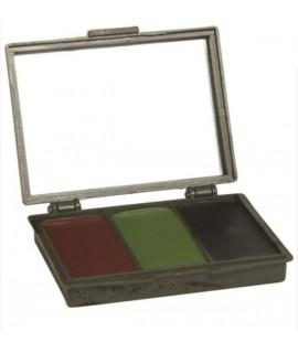 Camo Creme - 3 farver m. spejl