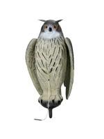 Lokkeugle med bevægelige vinger