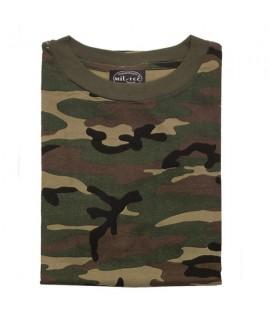 T-shirt - Woodland camo
