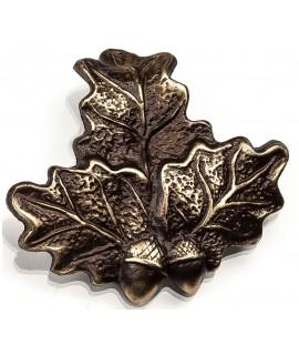 Egeløv bronze 6x7cm - Vildsvin