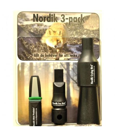 Rævekald - Nordik 3 i en pakke