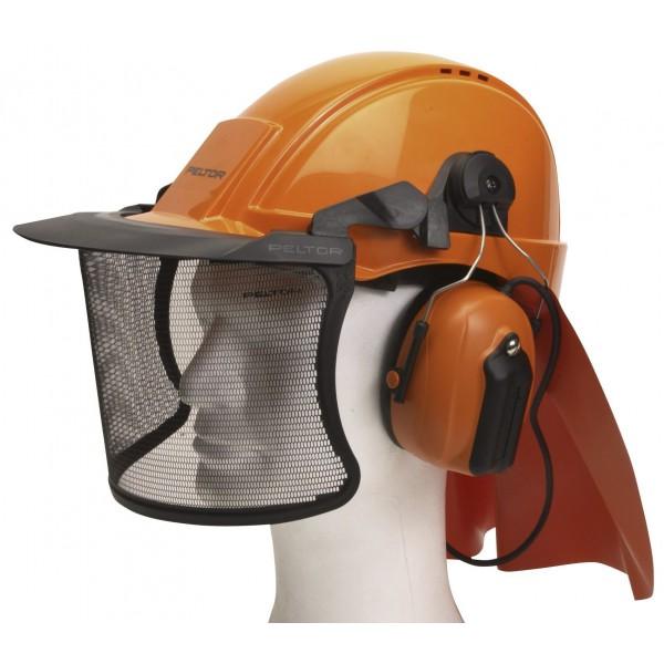 Peltor skovhuggerhjelm med FM høreværn