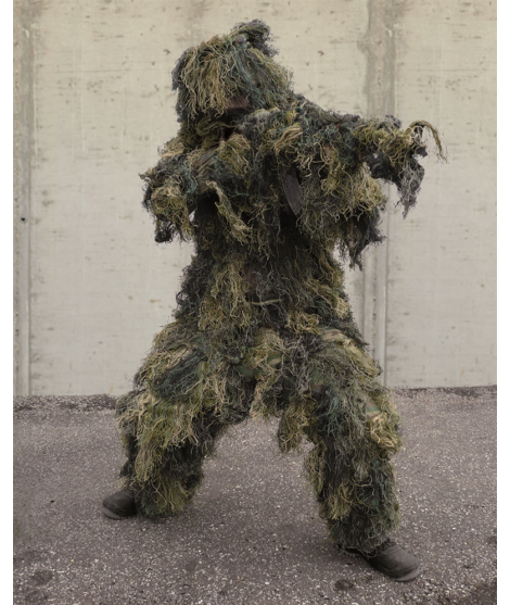 "Ghillie Suit Camouflagedragt ""Anti Fire"""