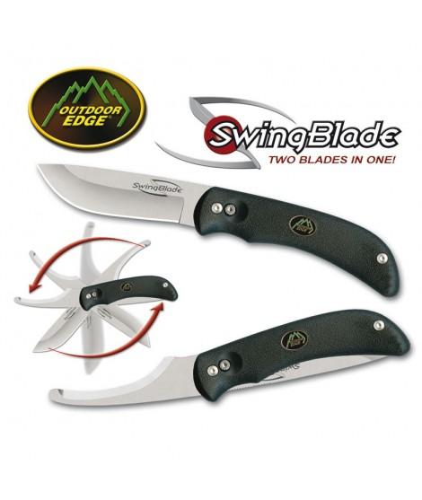 Outdoor Edge: Swingblade - Lommekniv med bugåbner