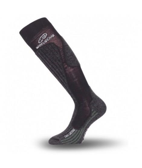 Knæhøje sokker i merinould