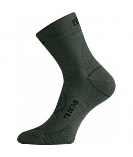 Trekking sokke - 75 % merinould Grøn