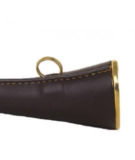 Signalhorn Lux med læder