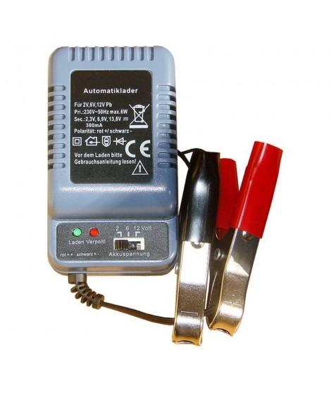 Oplader til 6 og 12 volt batteri