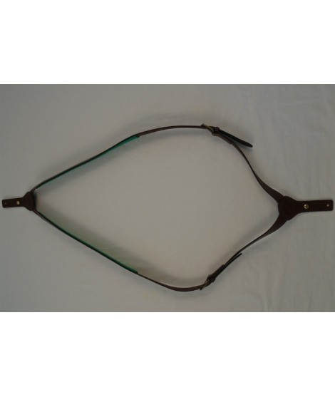 Dobbelt riffelrem i læder fra BLF Hunting