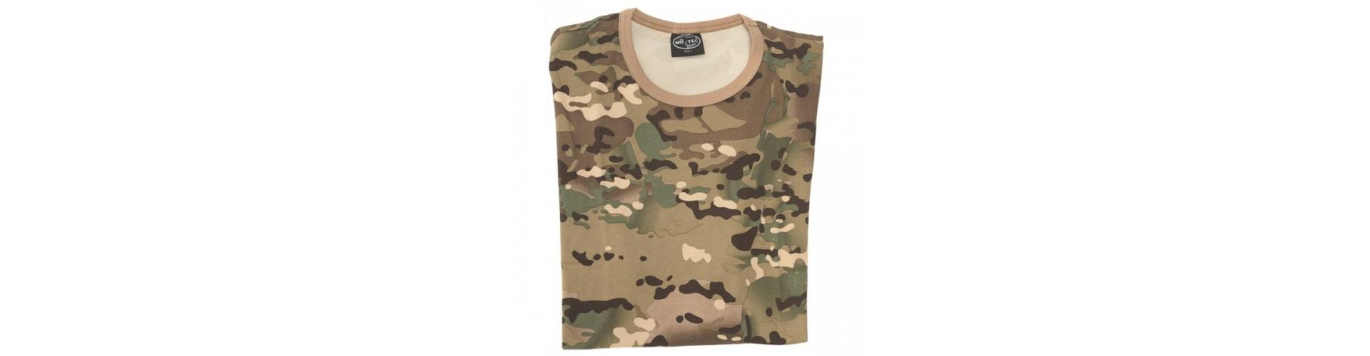 Camouflage -shirt - Køb jagt T-shirts med camouflage online