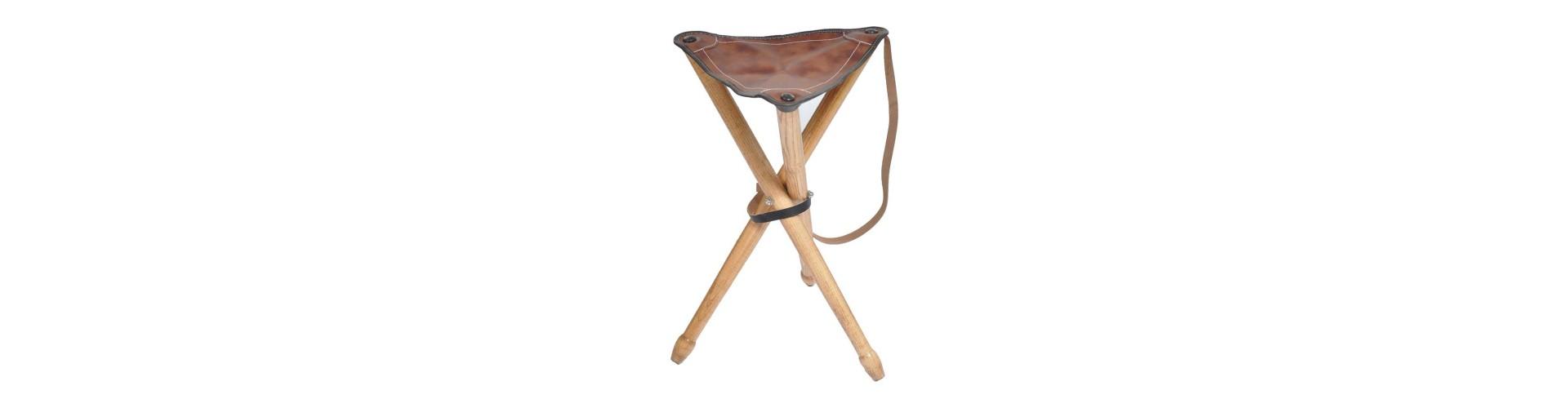 Trebenet jagtstol - Køb trebenet jagtstole til alle typer terræn - Fra 299,-