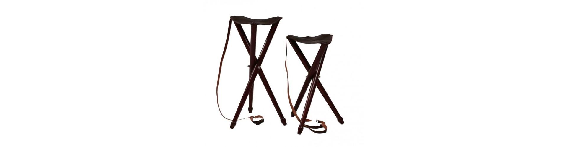 Jagtstole - Køb jagtstole med og uden ryglæn og rygsæk