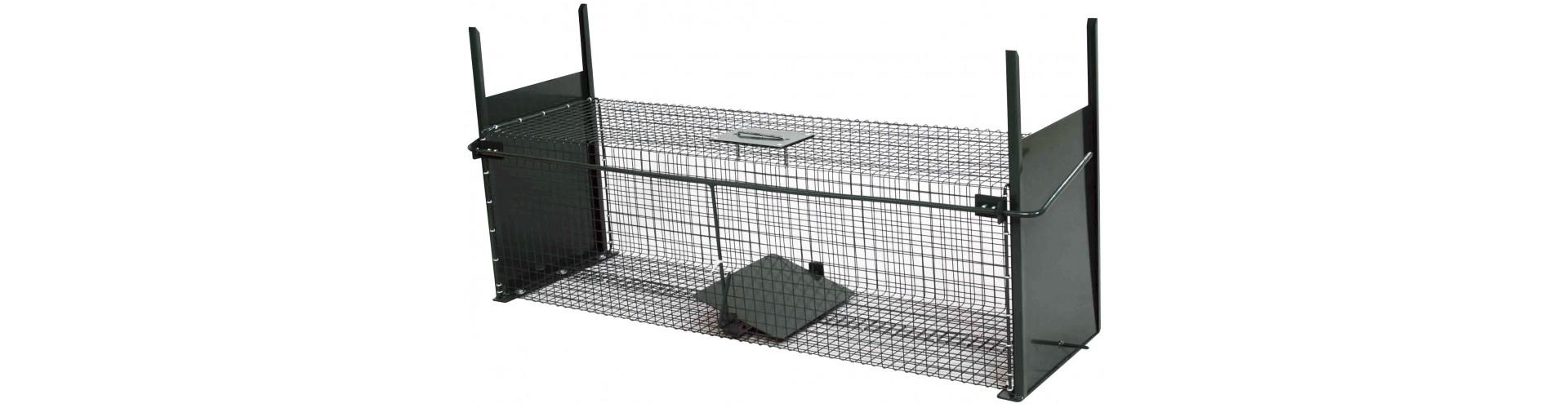 Fælder til skadedyr - Fælder til ræve, mår, mink og rotter