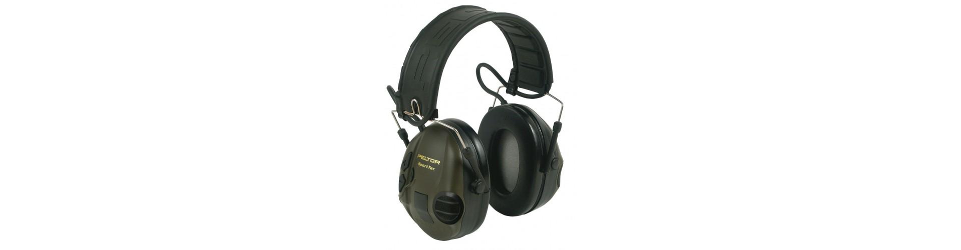 Høreværn til jagt - Køb høreværn til jagt fra Peltor og Mil-Tec