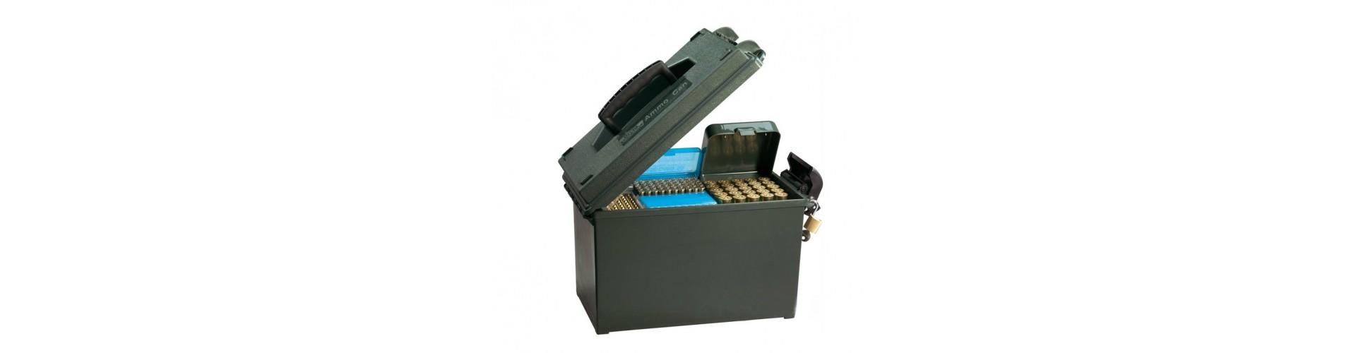 Ammunitionskasser - Køb patronholder og ammunitionskasse til haglpatroner og riffelpatroner